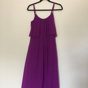 White House Black Market Purple Dress